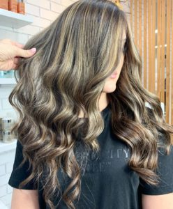 blow dry hairs