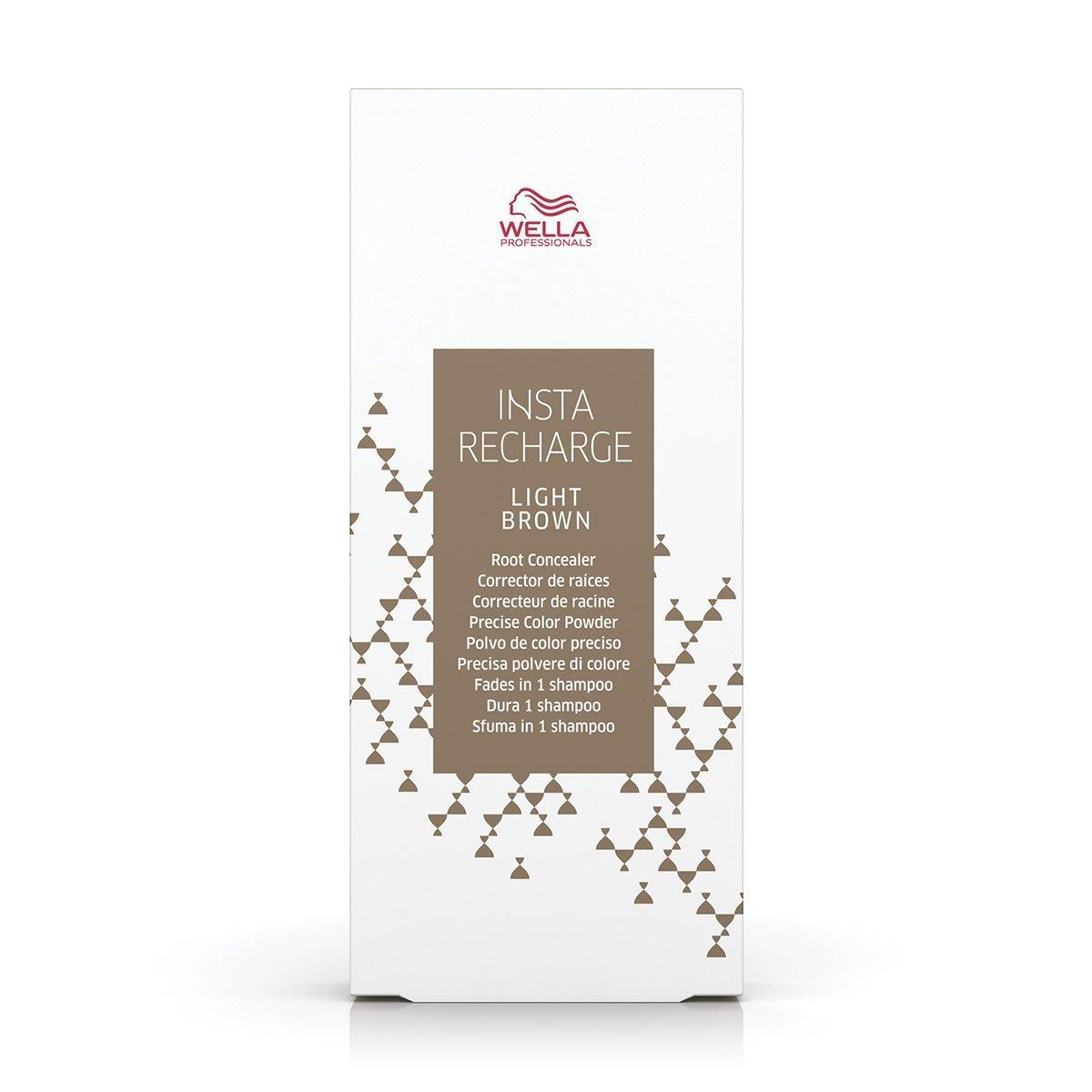 Wella INSTA RECHARGE Powder Light Brown Root Concealer