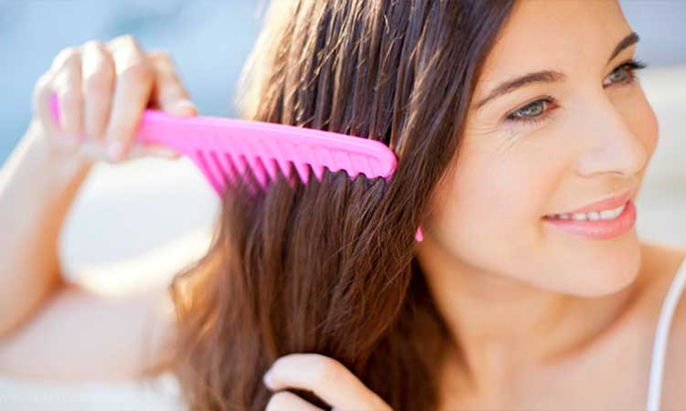 curly hair tips   Comb your hair