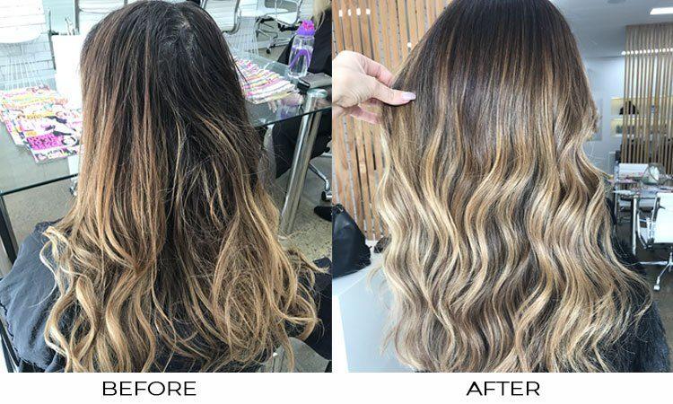 KLEONIKI Hair -summer effect