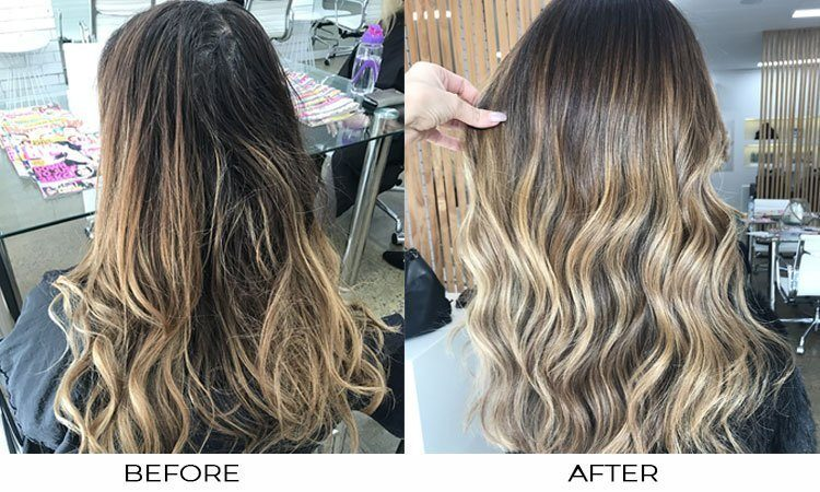 EFFECTS OF SUMMER LIGHT ON HAIR
